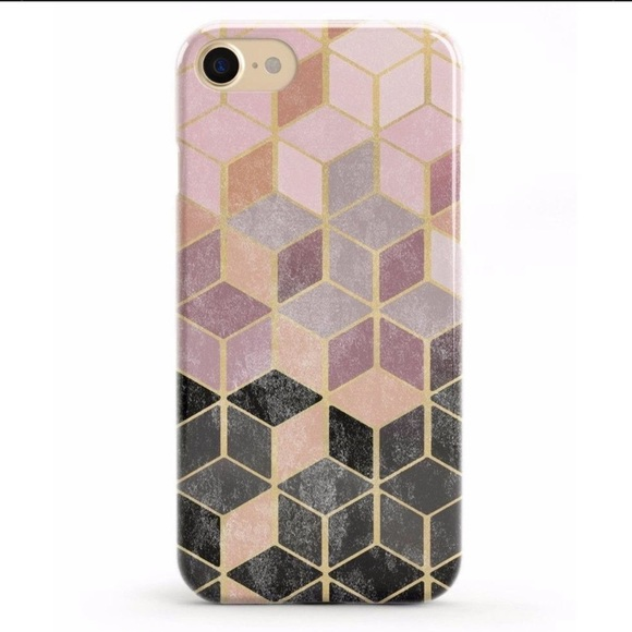 Rose Gold Marble iPhone 6/6S/7/8 Cover